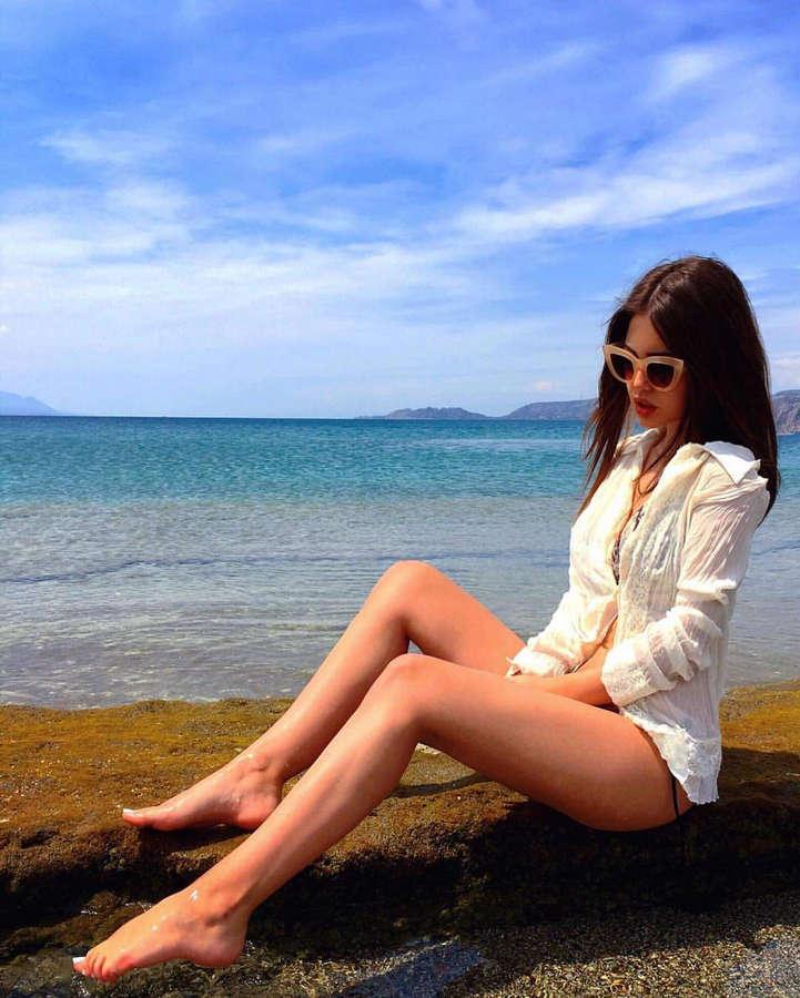 Eleanna Hatzinikolaou Palaiologou Feet