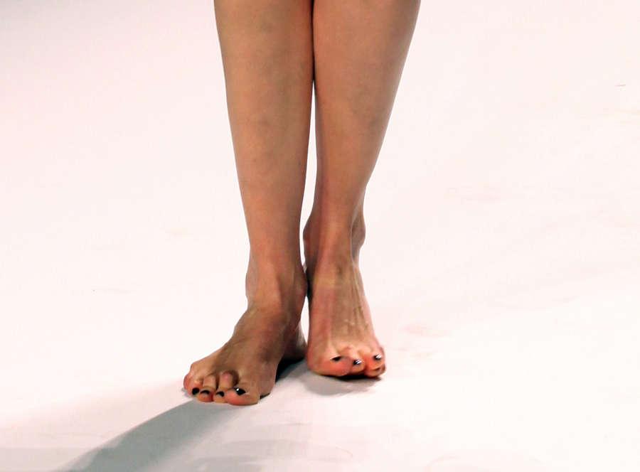 Agyness Deyn Feet