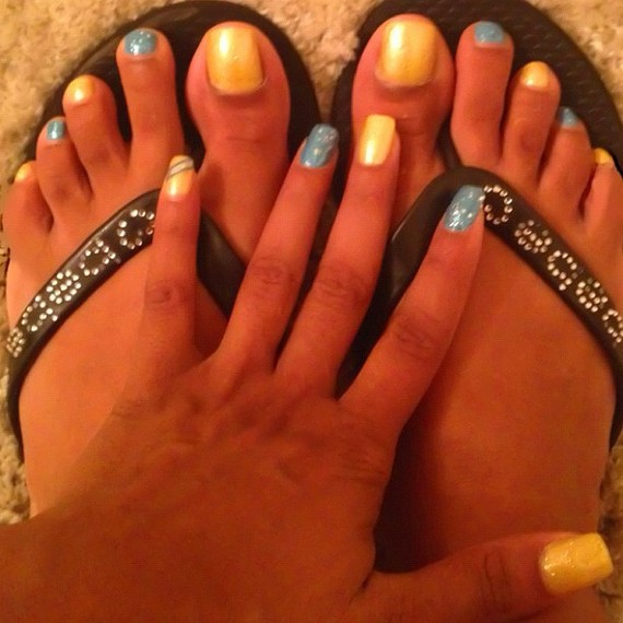 Esther Baxter Feet