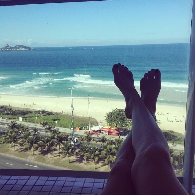 Caroline Francischini Feet