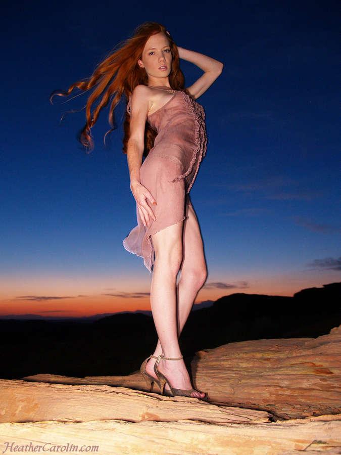 Heather Carolin Feet