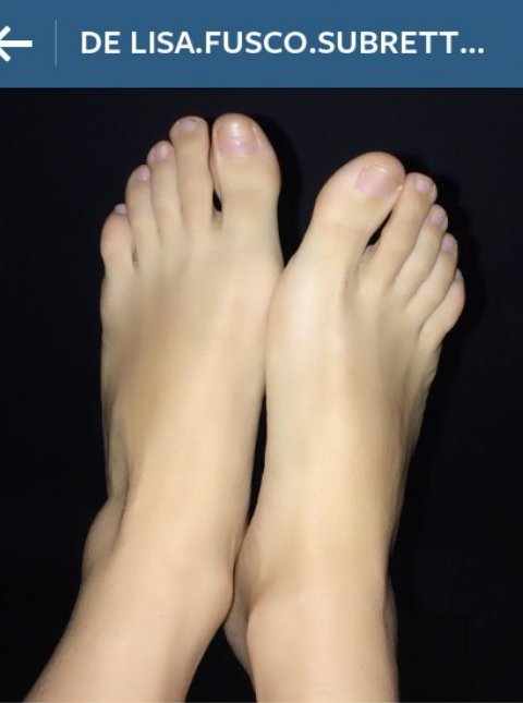 Lisa Fusco Feet