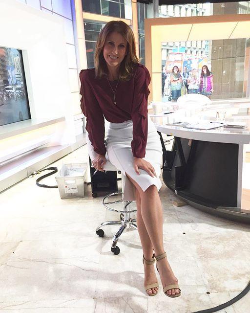 Natalie Barr Feet