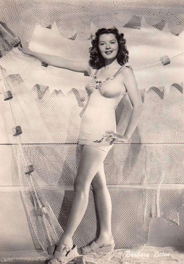 Barbara Bates Feet