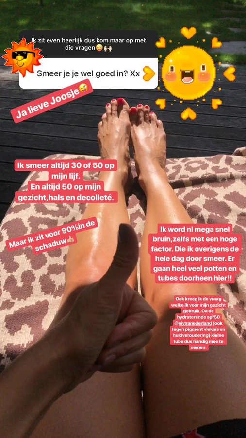 Quinty Van Den Broek Feet
