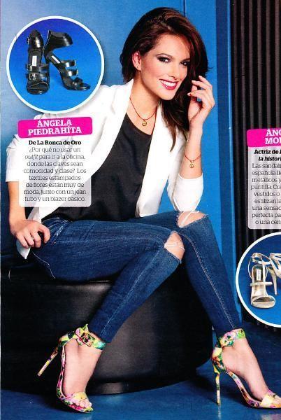 Angela Piedrahita Feet