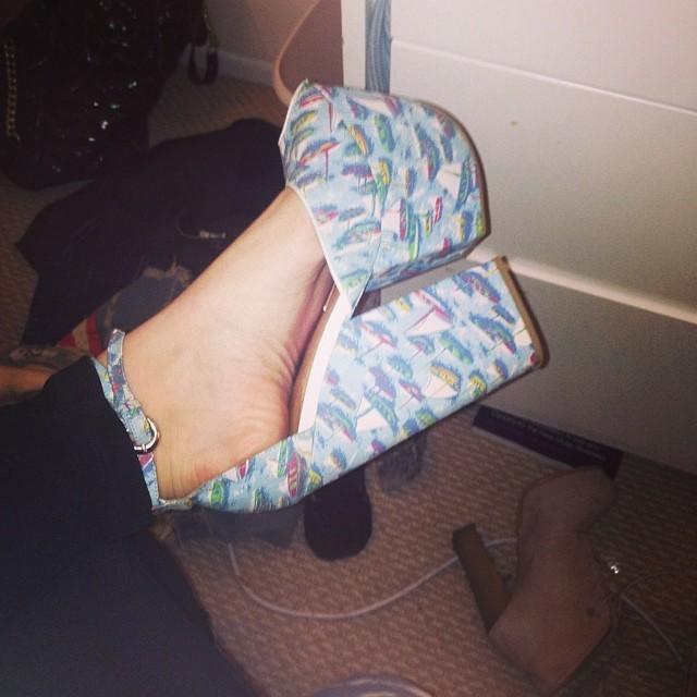 Caroline Burt Feet