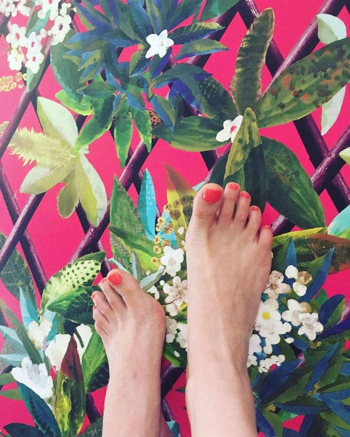 Sandra Barneda Feet
