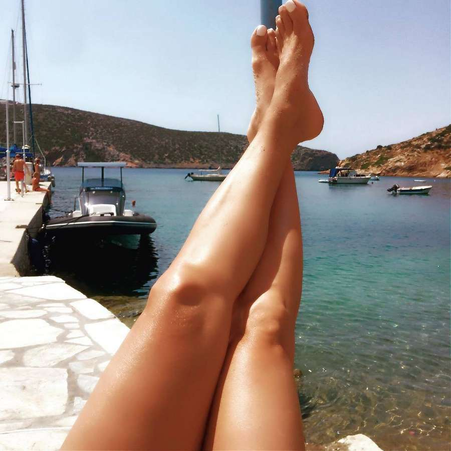 Jenny Ioakimidou Feet