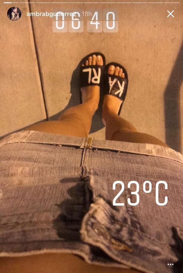 Ambra Battilana Gutierrez Feet