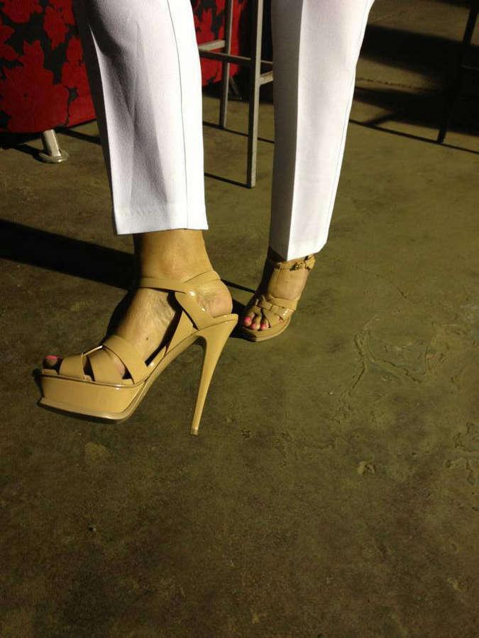 Zina Koutselini Feet