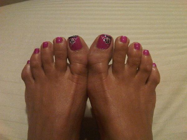 Lisa ann feet