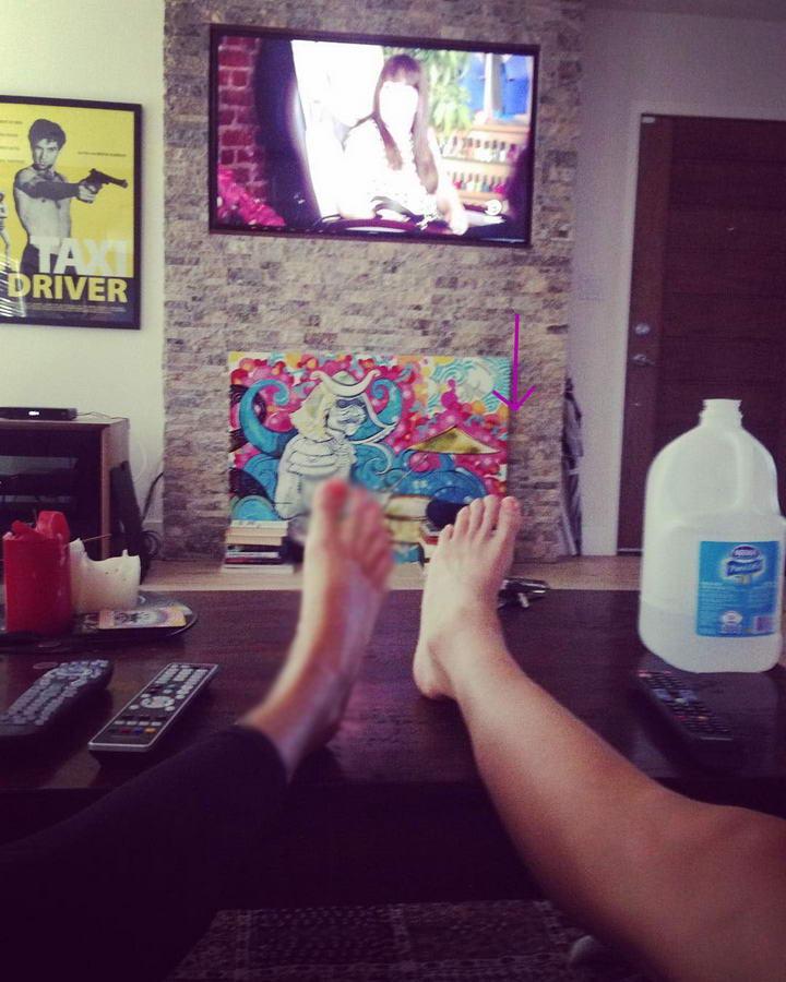 Dayle McLeod Feet