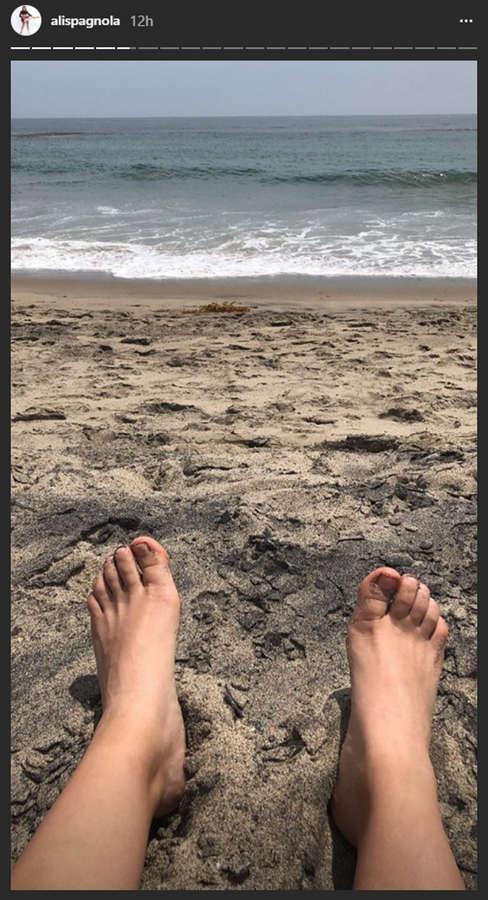 Ali Spagnola Feet