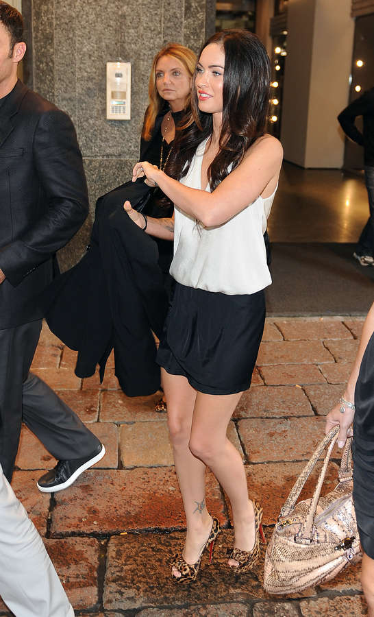 Megan Fox Feet