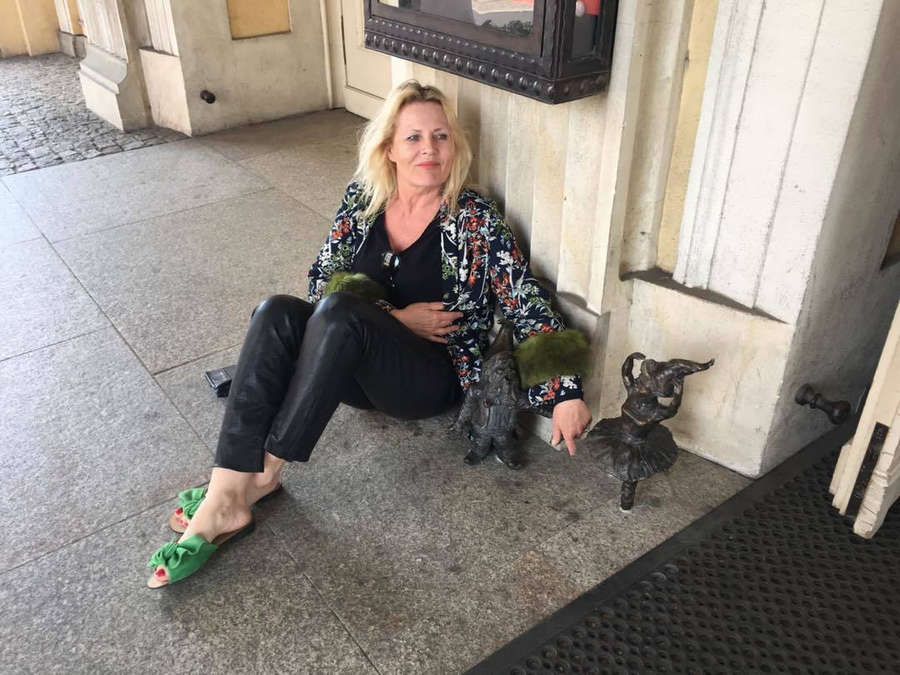 Grazyna Szapolowska Feet