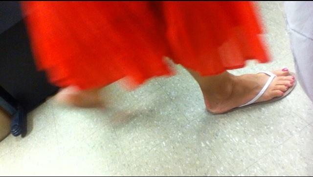 Carolyn Blair Feet