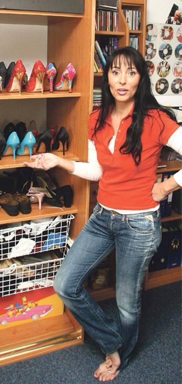 Heidi Janku Feet
