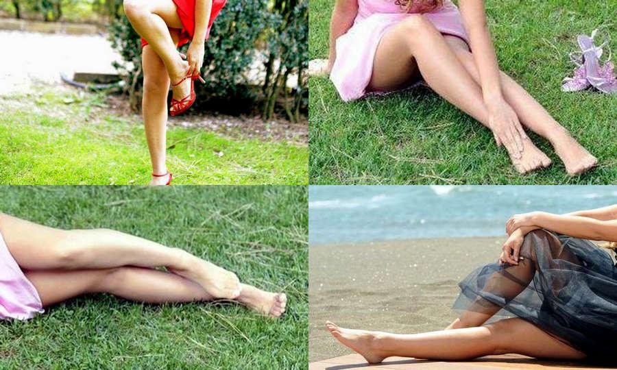 Pamela Saino Feet