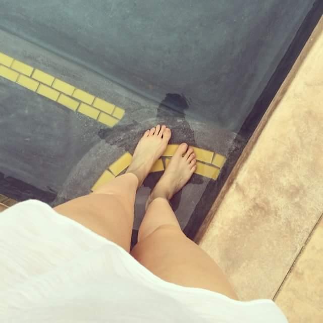 Olivia Somerlyn Feet