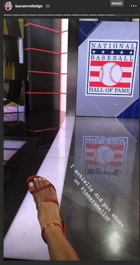 Laura Rutledge Feet