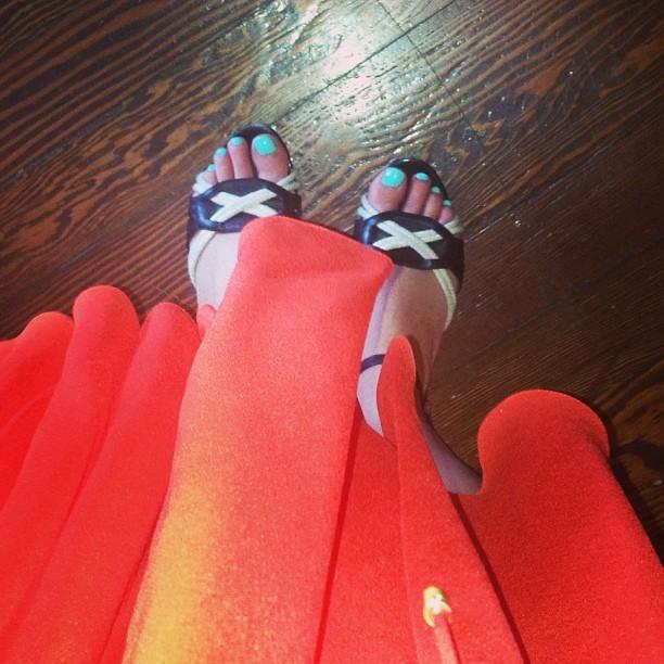 Molly McAleer Feet