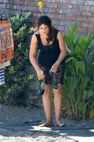 Monica Bellucci Feet
