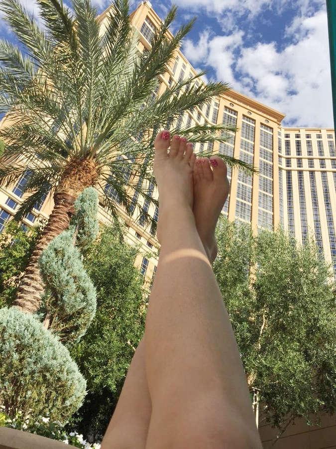 Alena Croft Feet