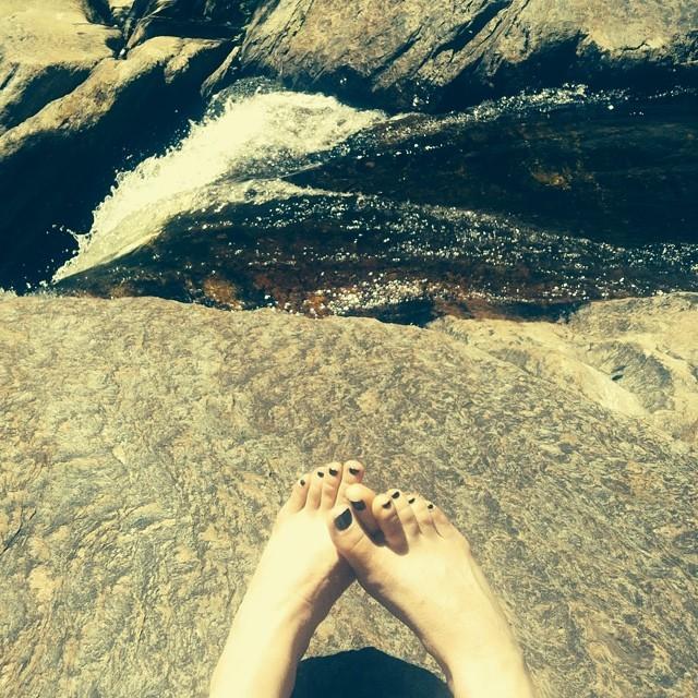 Sarah Stiles Feet