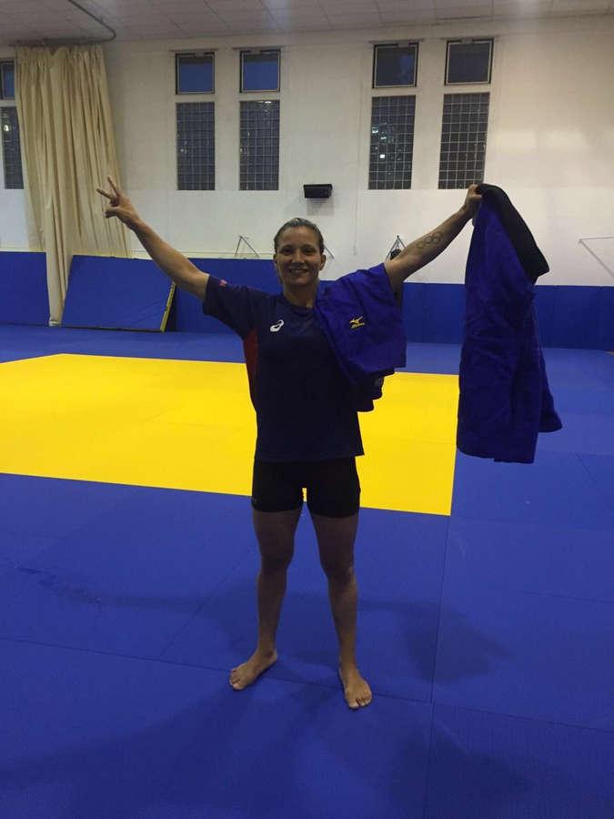Telma Monteiro Feet