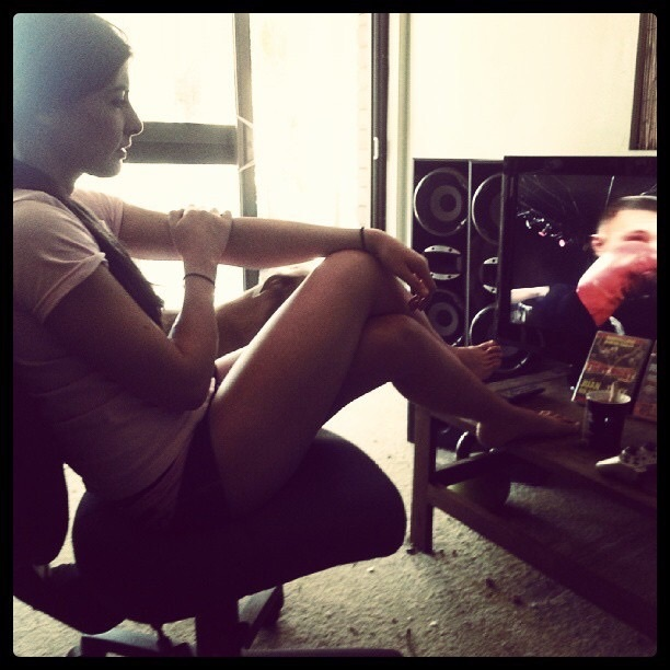 Alex Chambers Feet