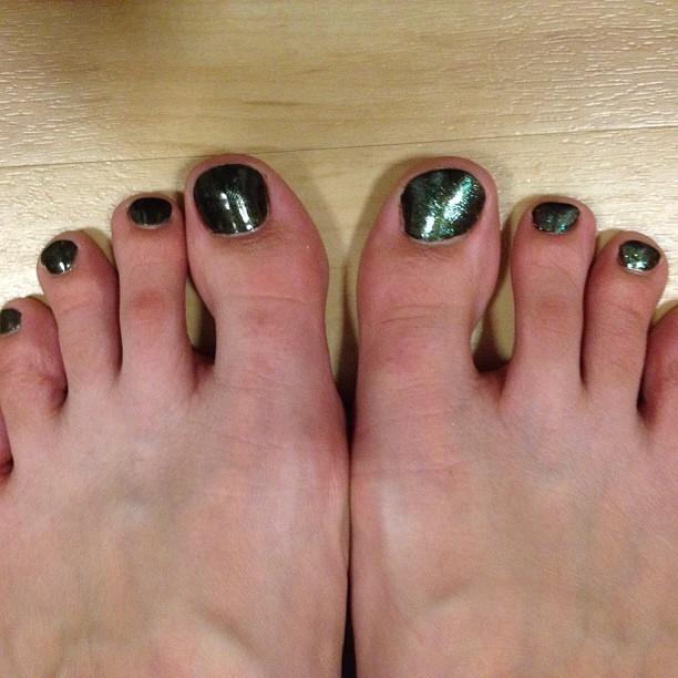 Allegra Clark Feet