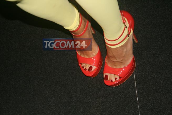 Elisabetta Gregoraci Feet