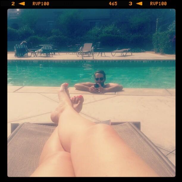Kristine Lazar Feet