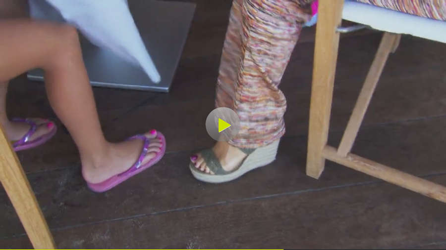 Carmen Geiss Feet