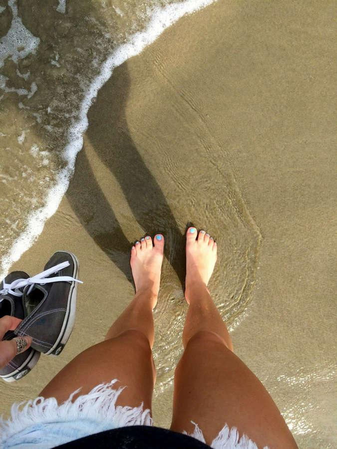 Amymarie Gaertner Feet