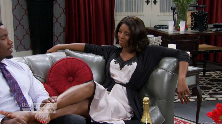 Tasha Smith Feet
