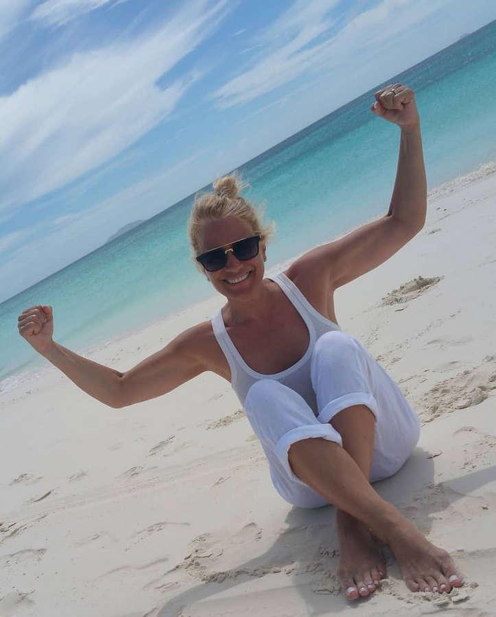 Heather Parisi Feet