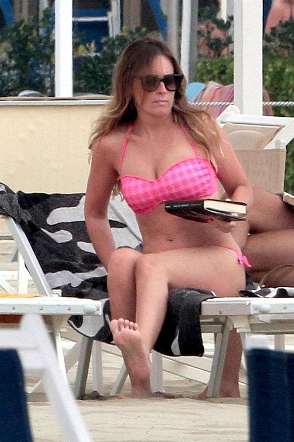Maria Elena Boschi Feet