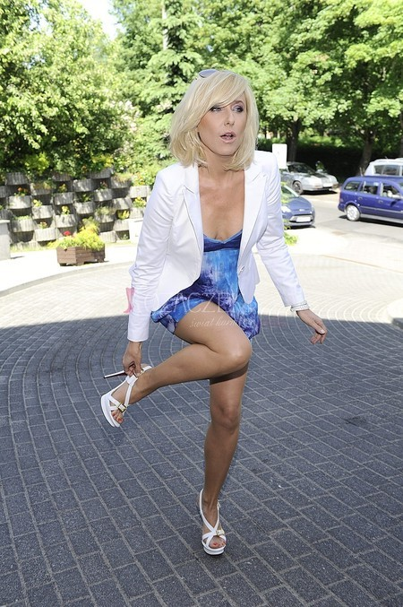 Agata Mlynarska Feet