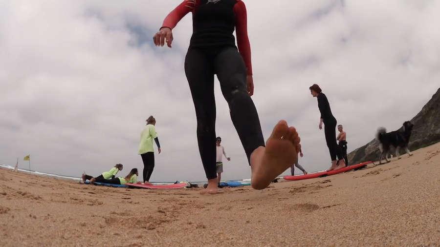 Yvonne Pferrer Feet