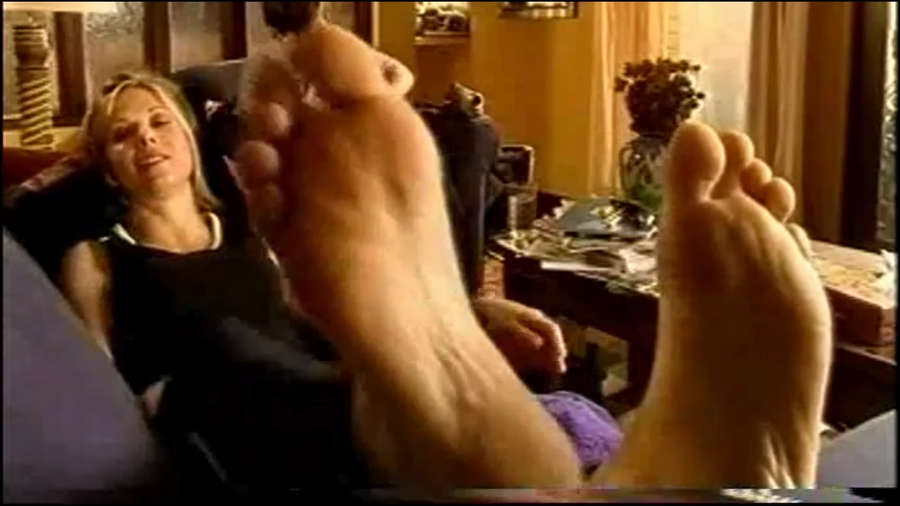 Glynis Barber Feet