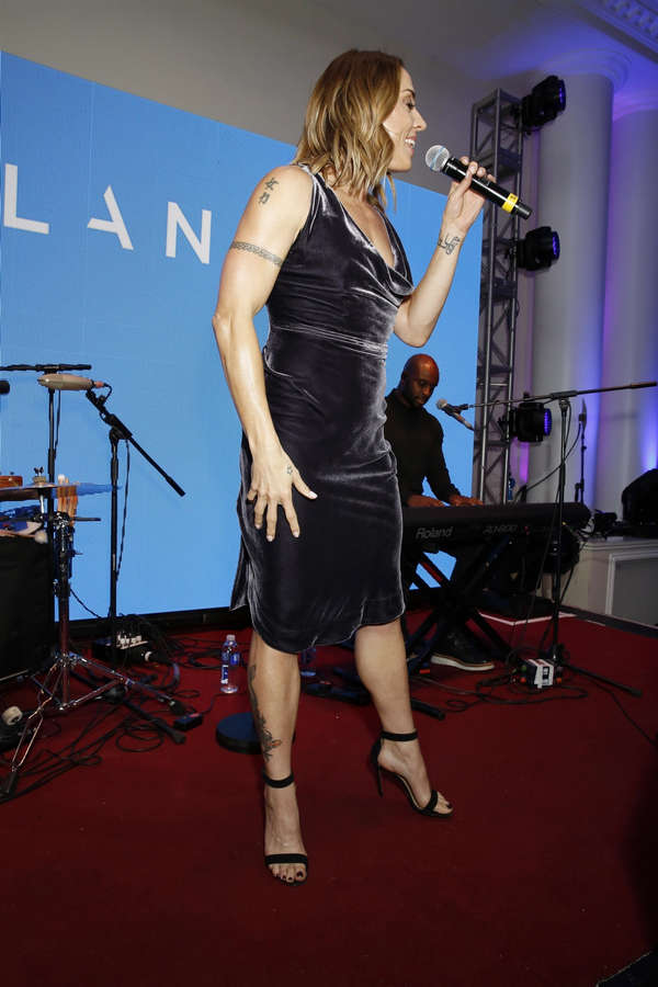 Melanie C Feet