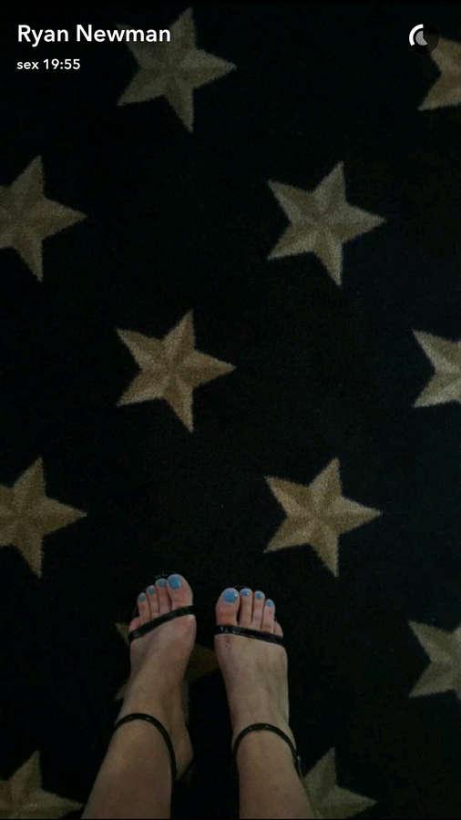 Ryan Newman Feet