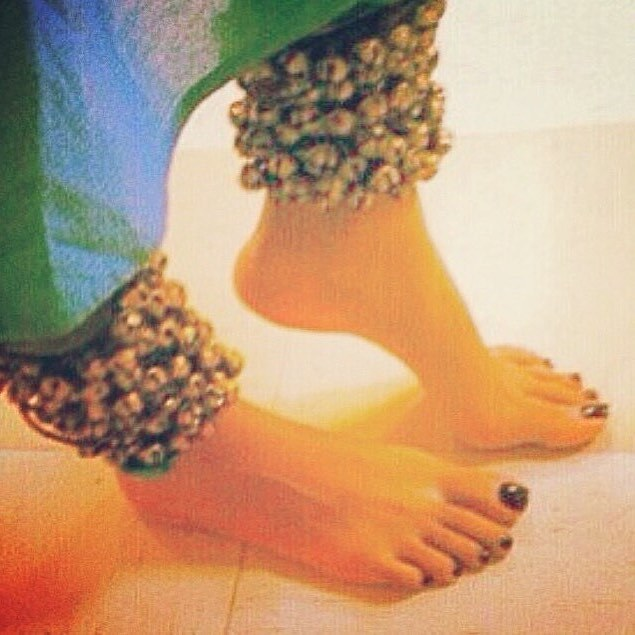 Annanya Soni Feet