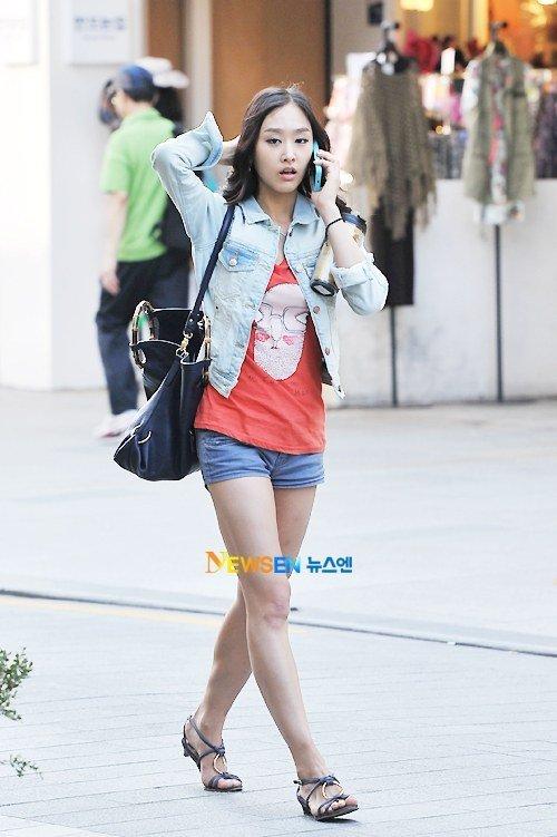 Han Yoo Yi Feet