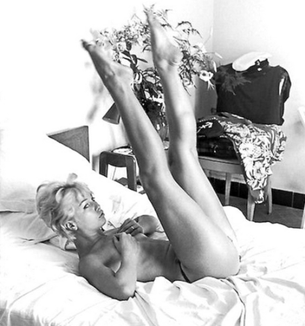 Mylene Demongeot Feet