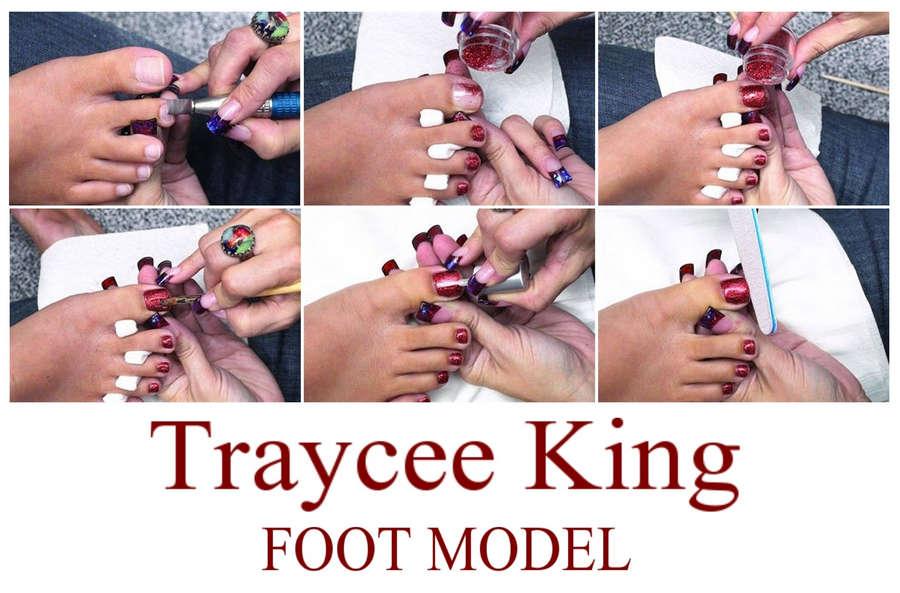 Traycee King Feet