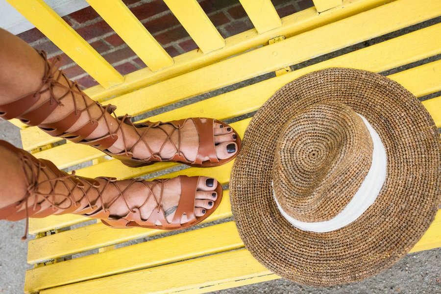 Kristen Taekman Feet