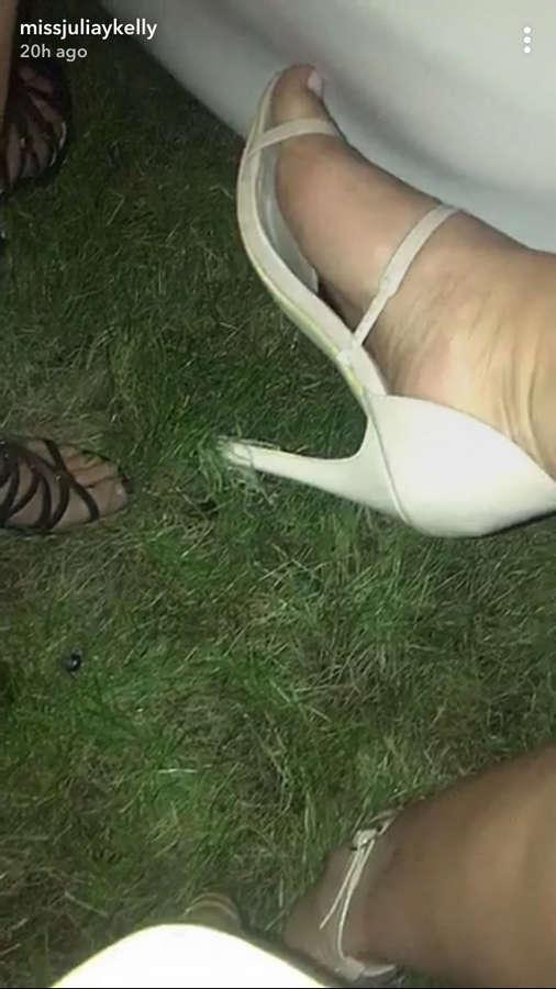 Julia Kelly Feet